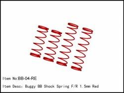 Pružiny olejových tl. Big Bore - 2x přední + 2x zadní -1,5 mm
