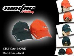 Kšiltová čepice Caster Racing - černá
