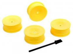Disky kol - žluté - 4ks