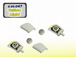 Osvětlené konce stabilizátoru se žlutými diodami