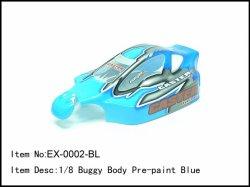 Lexanová karoserie - modrá