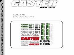 Samolepky Caster