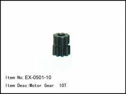 Pastorek - 10z - 5mm - modul 1mm
