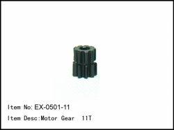 Pastorek - 11z - 5mm - modul 1mm