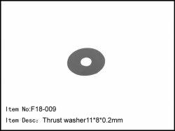 Podložka - 11 * 8,2 * 0,2 mm