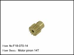 Pastorek - 14z - 2mm - 0,5mm