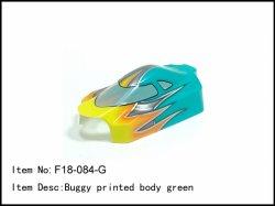 Lexanová karoserie Buggy - zelená
