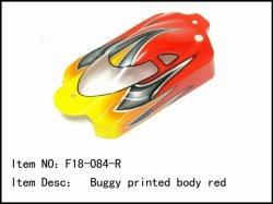 Lexanová karoserie Buggy - červená