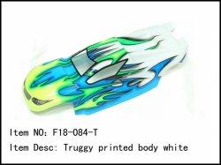 Lexanová karoserie Truggy - bílá