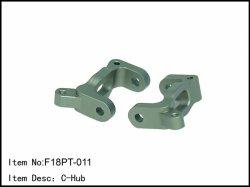 Hliníkový C-hub - 2ks