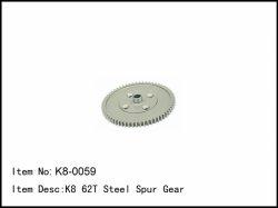 Hlavní ozubené kolo středového diferenciálu - 62z
