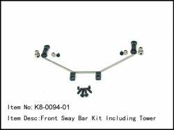 Kompletní přední stabilizátor - 2,3mm