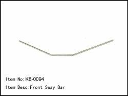 Přední stabilizátor - 2,3mm