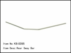 Zadní stabilizátor - 2,8mm