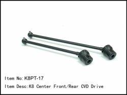Přední a zadní CVD centrální hřídel - tuning - 2ks