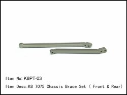Vzpěra přední a zadní nápravy - tuning - 2ks