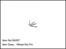 Osičky pro šestihranné unašeče kol - 4ks