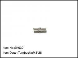 Spojovačky M3 x 26mm - 2ks