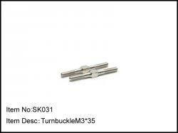 Spojovačky M3 x 35mm - 2ks