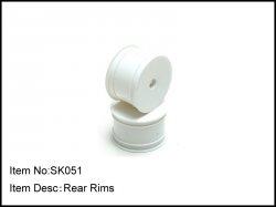 Zadní disky kol - 2ks