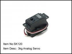 Standardní servo - 3kg/ cm
