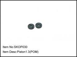 Pístky tlumičů 1,3mm - 2ks