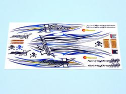 Samolepky na karoserie (Wind) - modré