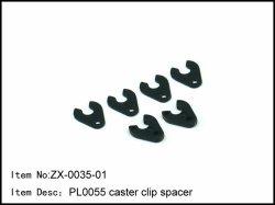 Podložky nastavení záklonu rejdového čepu - 6ks