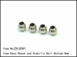 Kulové čepy stabilizátorů - uchycení v rameni - 4ks