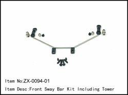 Kompletní přední stabilizátor - 2,2 (2,3)mm