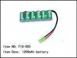 Akumulátor - 1200mAh, 7,2V, NiMH