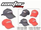 Kšiltová čepice Caster Racing - červená